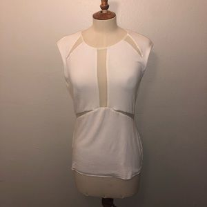 Bailey 44 White Top with Mesh